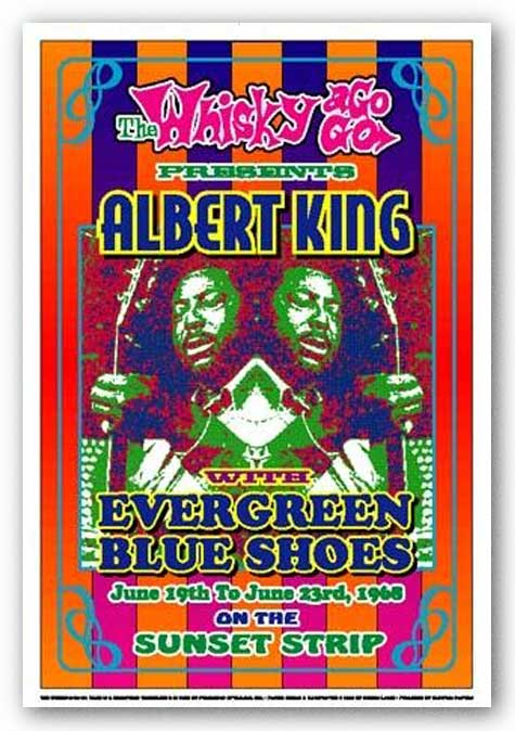 Albert King, 1968: Whisky-A-Go-Go, Los Angeles by Dennis Loren