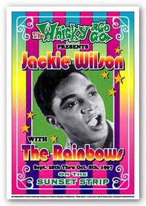 Jackie Wilson, 1967: Whisky-A-Go-Go, Los Angeles by Dennis Loren