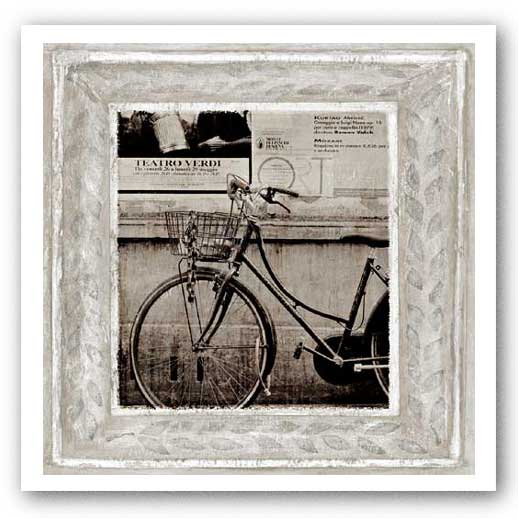 Bicycle in Florence by Teo Tarras