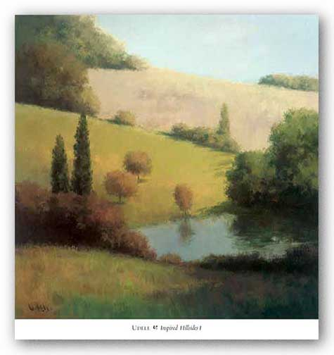 Inspired Hillsides I by Udell