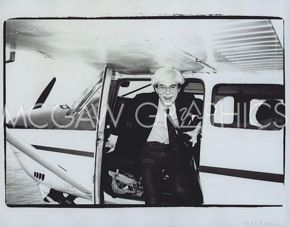 Self-Portrait, 1982 (airplane) by Andy Warhol