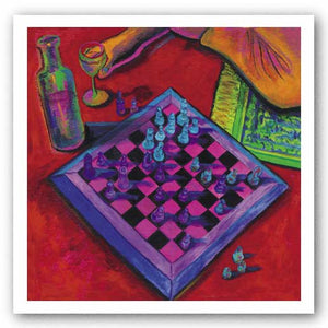 Chess - Giclee on Canvas by Consuelo Gamboa
