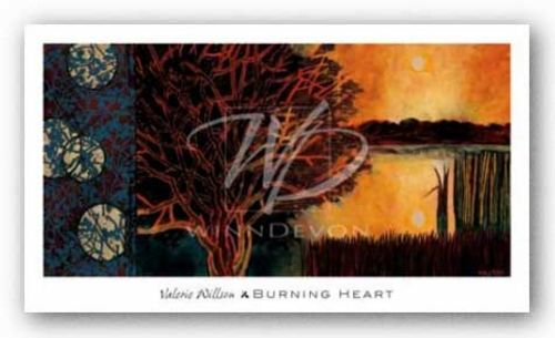 Burning Heart by Valerie Willson