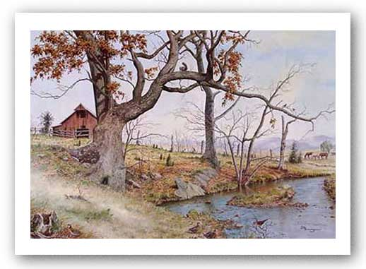 Autumn in Walker Valley by Howard Burger