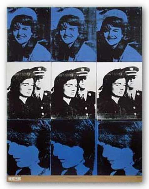 Nine Jackies, 1964 by Andy Warhol