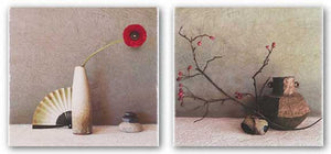 Iron Pot and Poppy with Fan Set by Judy Mandolf