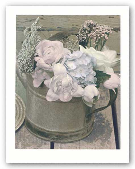 Antique Blooms ll by Dianne Poinski