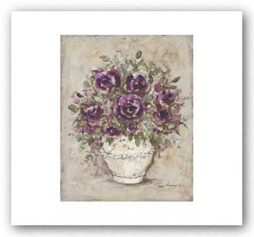 Lavender Blossoms l by Peggy Abrams