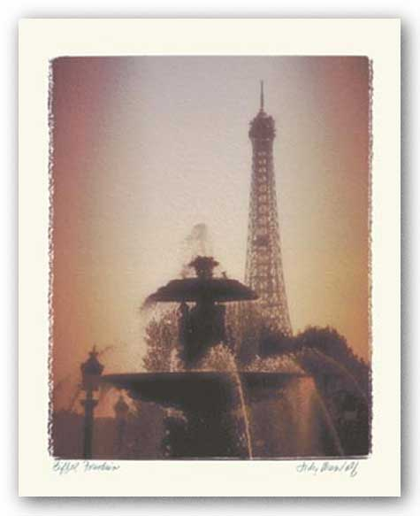 Eiffel Fountain by Judy Mandolf