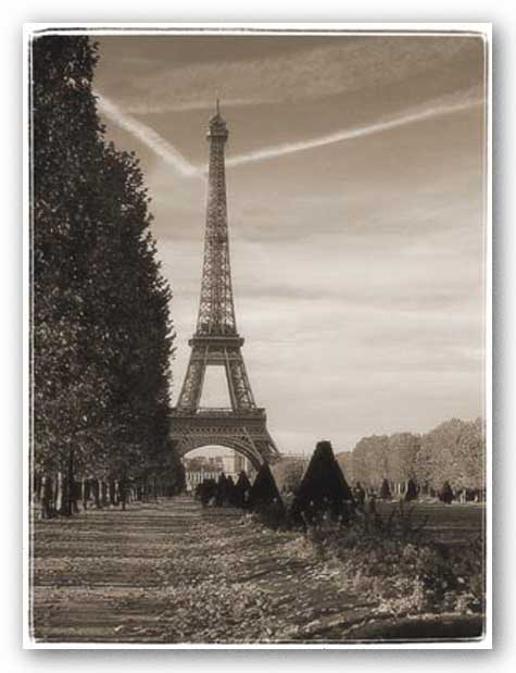 Eiffel Tower Day by Judy Mandolf