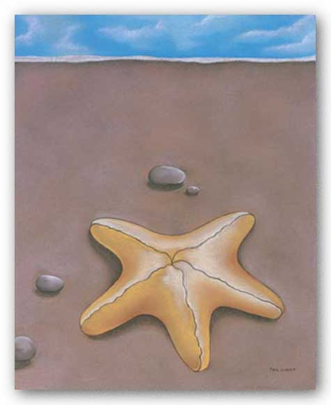 Sand, Shell and Sky II by Phyl Schock