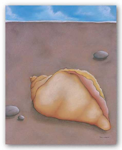 Sand, Shell and Sky III by Phyl Schock