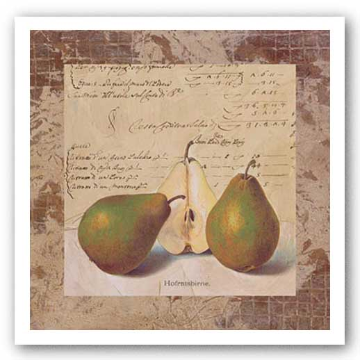 Pear Archive by Merri Pattinian
