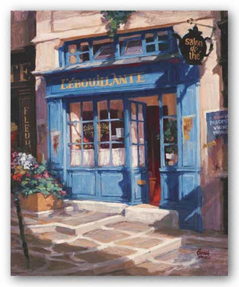 Le Petit The, Paris by George Botich