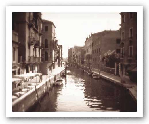 Venetian Canal by David Westby