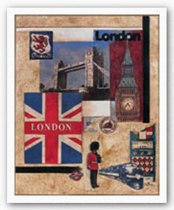 London Collage by Susan Osborne