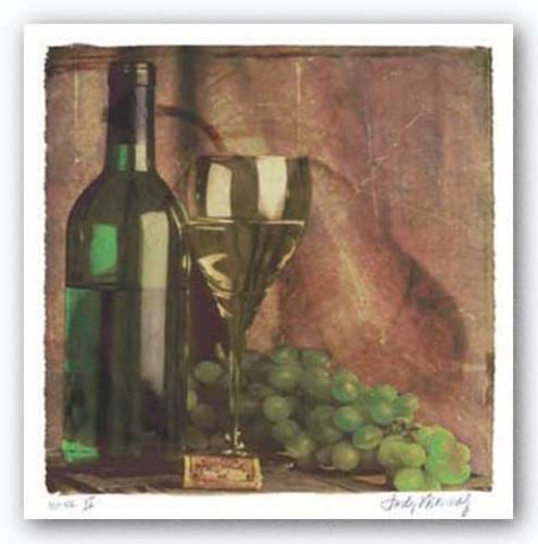 Wine II by Judy Mandolf