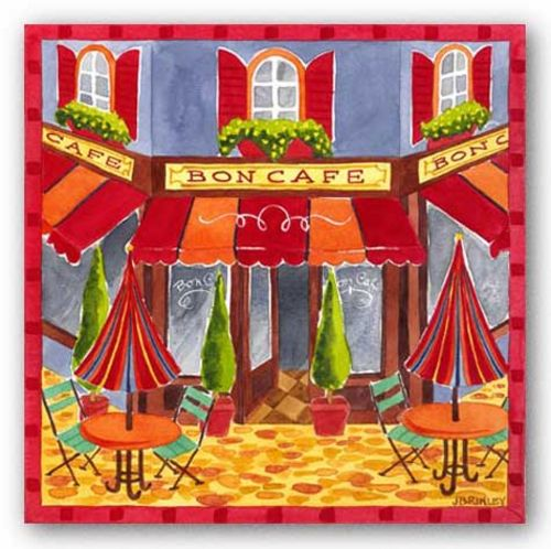 Bon Cafe by Jennifer Brinley