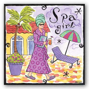 Spa Girl by Jennifer Brinley