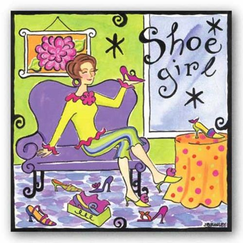 Shoe Girl by Jennifer Brinley