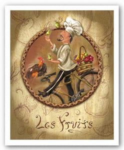 Les Fruits by Shari Warren