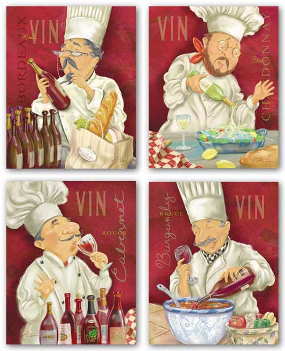 Wine Chef Set by Shari Warren