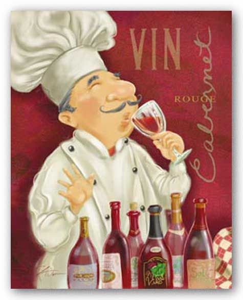 Wine Chef III by Shari Warren