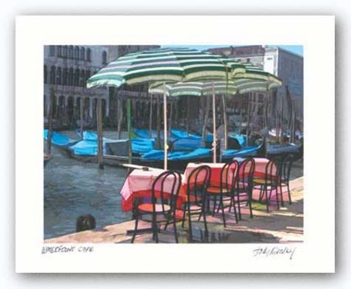 Waterfront Cafe by Judy Mandolf