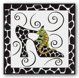 Shoe Gecko by Stephanie Stouffer
