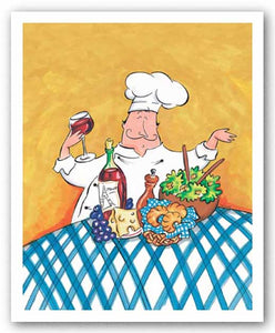 French Chef by Tracy Flickinger