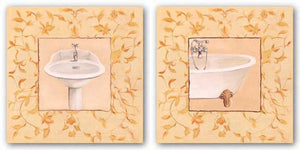 Golden Floral Set by Capital Decor
