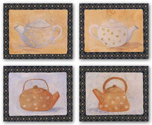 Provincial Teapots Set by Capital Decor