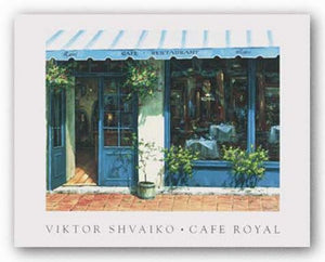 Cafe Royal by Viktor Shvaiko