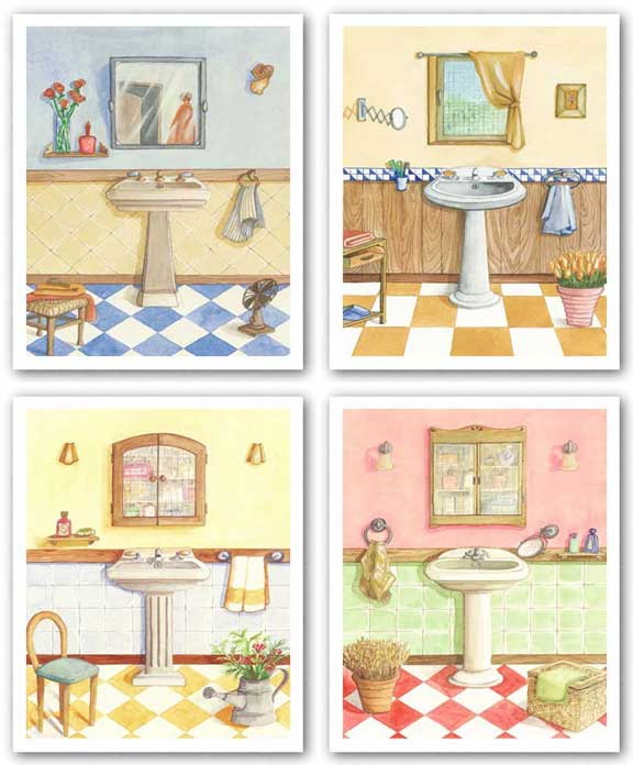 Checks Set by Capital Decor