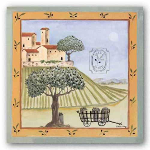 Olive Grove I by Katharine Gracey