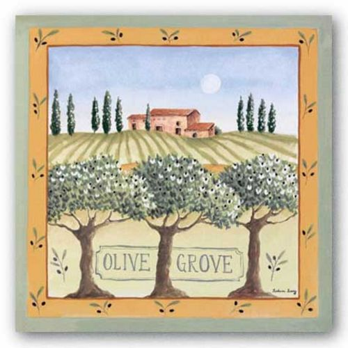 Olive Grove III by Katharine Gracey
