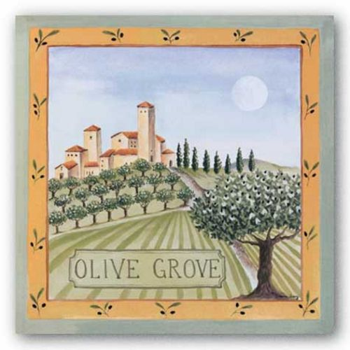 Olive Grove IV by Katharine Gracey