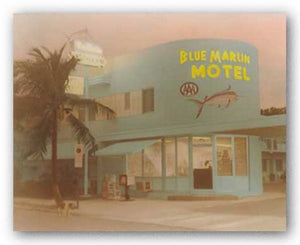 Blue Marlin Hotel by Victoria Blewer