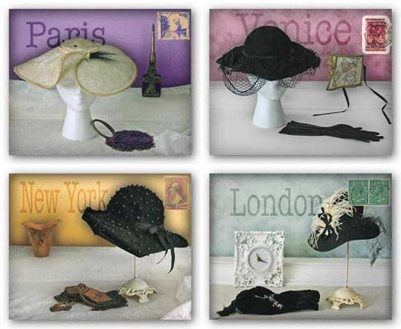 Travel Hat Set by Judy Mandolf