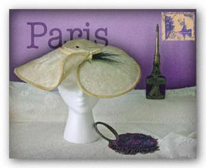 Paris Hat by Judy Mandolf