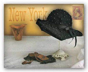 New York Hat by Judy Mandolf