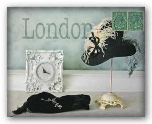 London Hat by Judy Mandolf