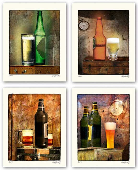 Beer Set by Judy Mandolf