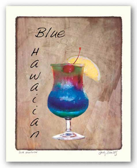 Blue Hawaiian by Judy Mandolf