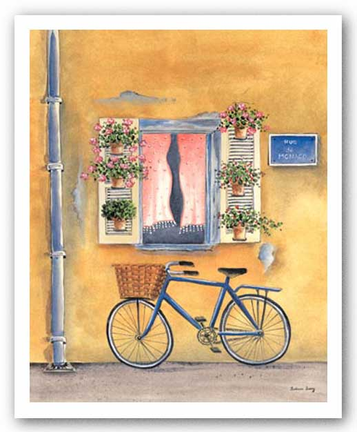 French Bicycle I by Katharine Gracey