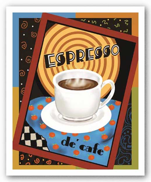 Espresso De Cafe by Betty Whiteaker