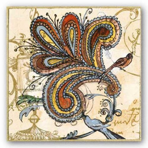 Bird of Paisley II by Susan Gillette