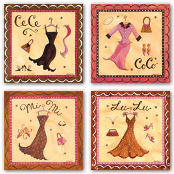 Ce Ce-Co Co-Mi Mi-Lu Lu Set by Jennifer Brinley