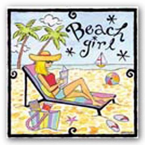 Beach Girl II by Jennifer Brinley
