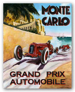 Grand Prix Automobile by Chris Flanagan
